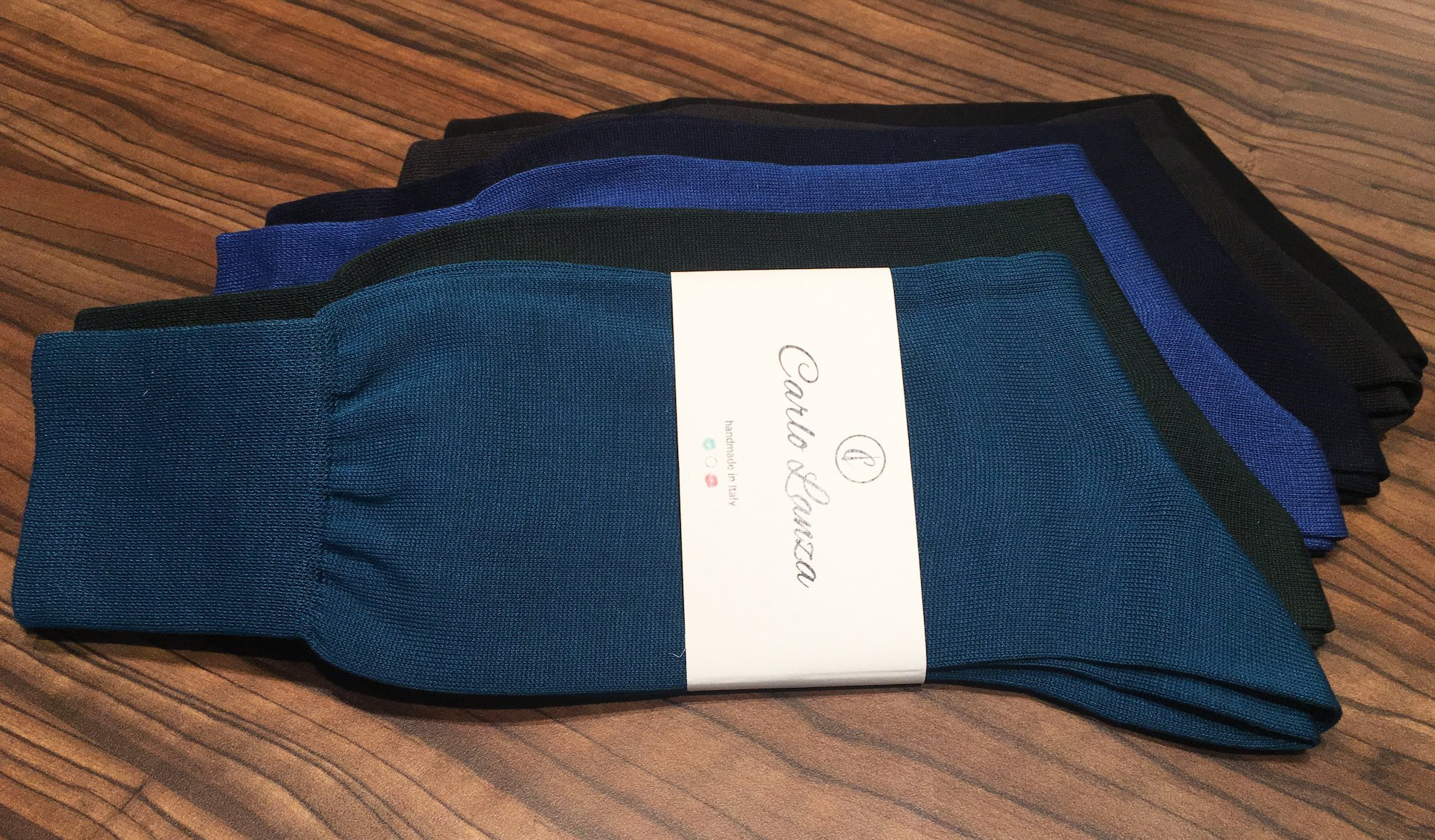 Premium-Socken von Carlo Lanza