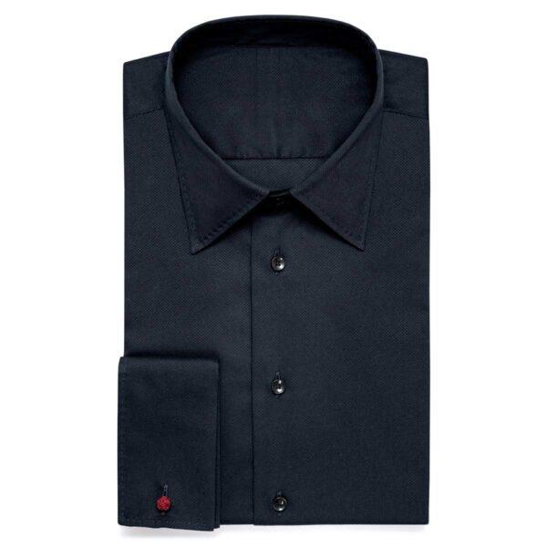 Schwarzes Businesshemd