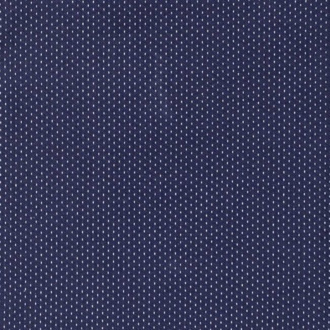 Nachtblaues Business-Maßhemd