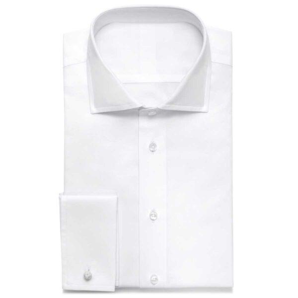 Der Klassiker: das weiße Business-Maßhemd