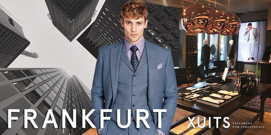 Maßanzug in Frankfurt von XUITS