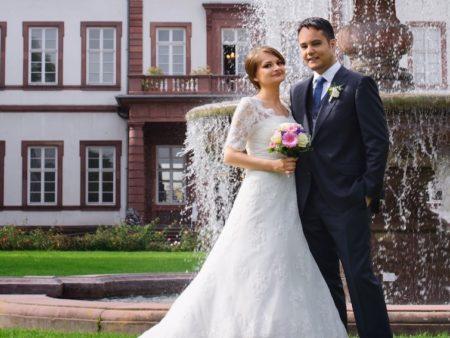 Hochzeit am Brunnen
