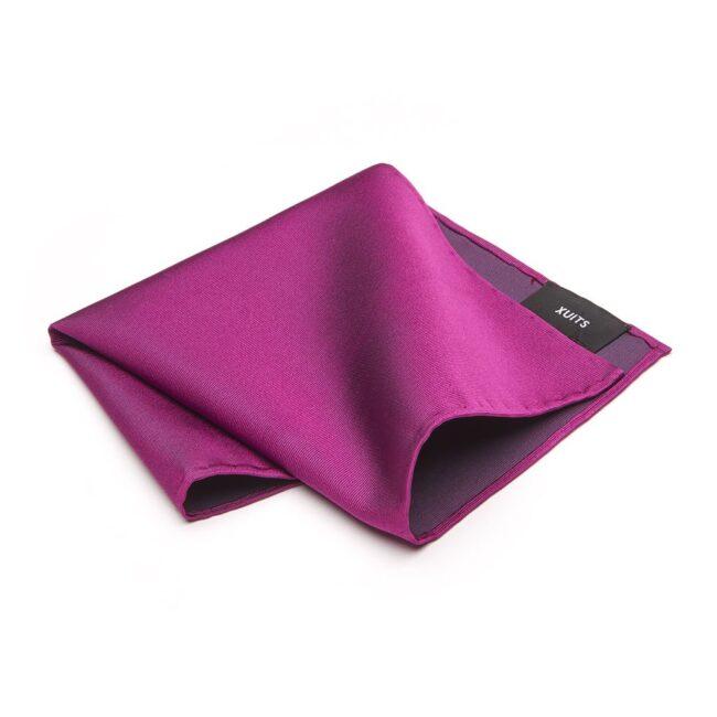 Einstecktuch Fuxia violett