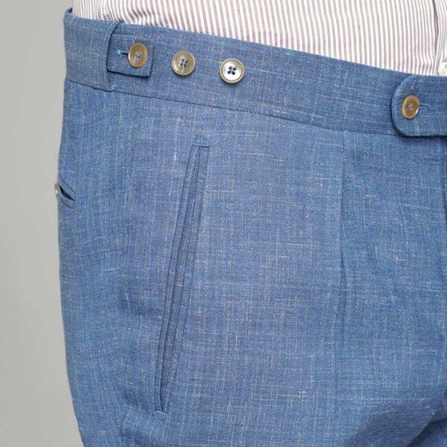Hosenbund mit Knopfriegeln