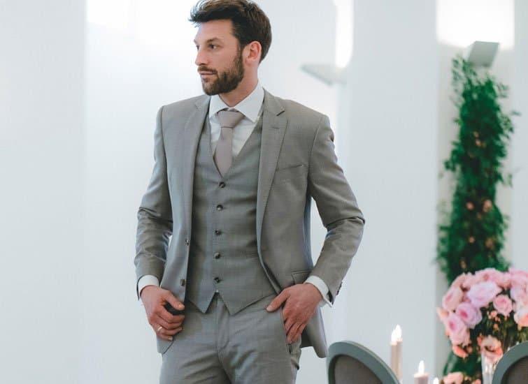 So finden Sie den perfekten Hochzeitsanzug