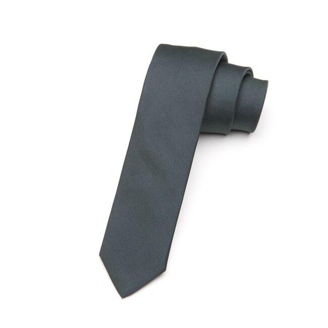 Krawatte Alloro waldgruen