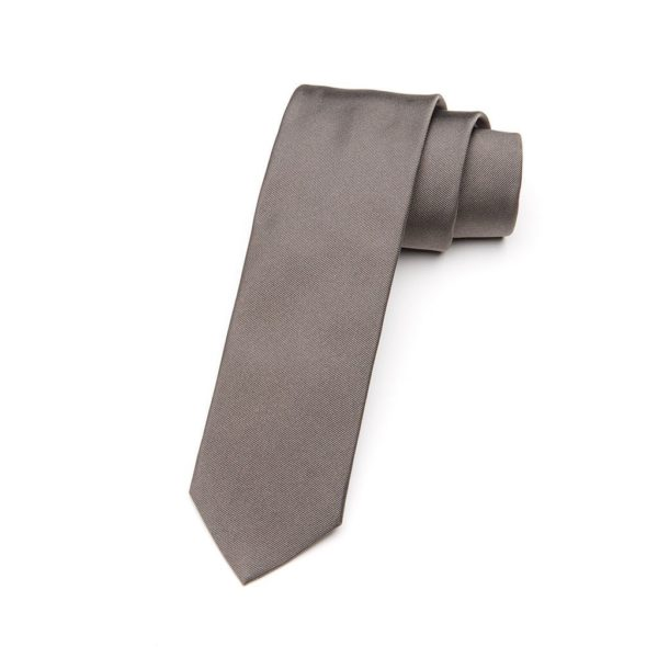 Krawatte Grigio aschgrau