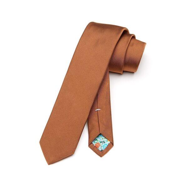 Krawatte Mogano braun