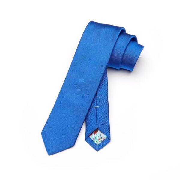 Krawatte Oriente in königsblau