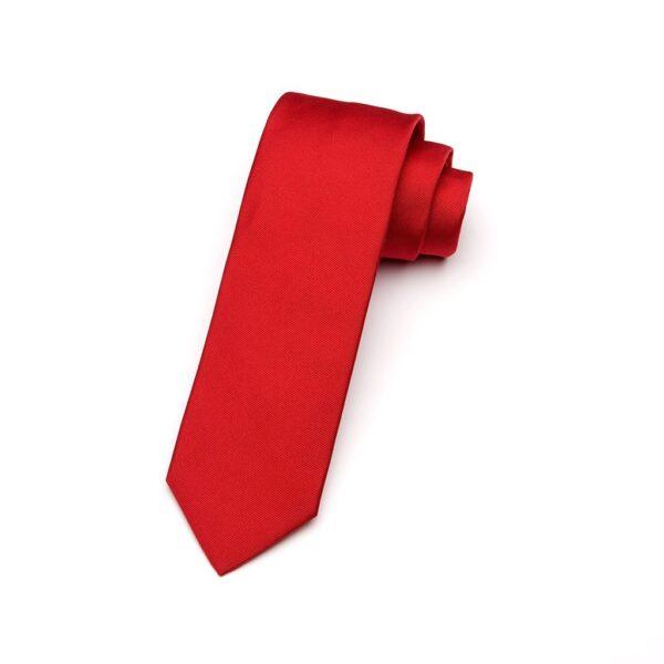 Krawatte Sangue blutrot