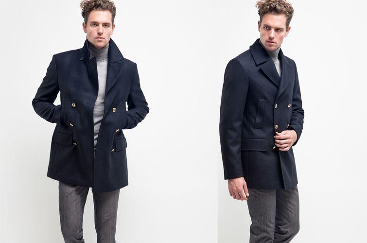 Peacoat oder Caban, eher Jacke als Mantel