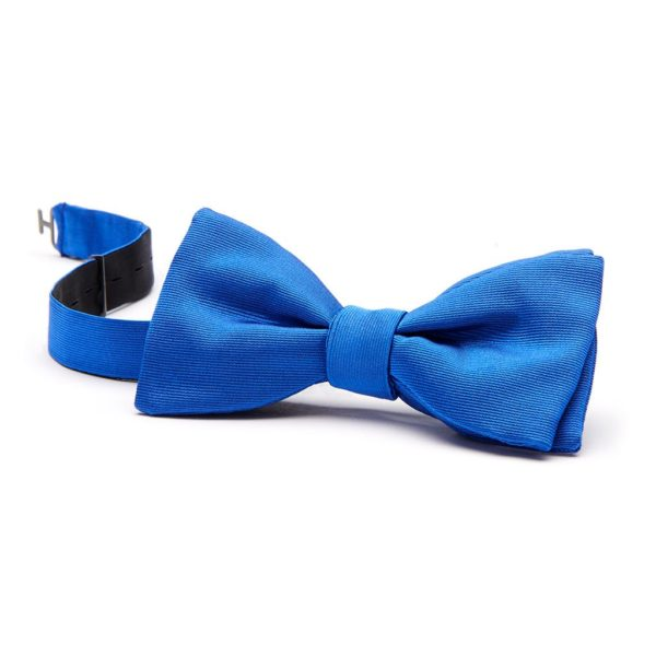 Schleife gebunden Oriente koenigsblau