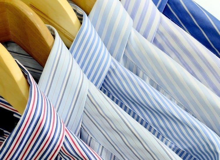 Stoffe für Businesshemden