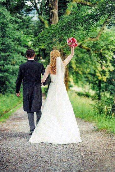 Cutaway als Hochzeitsanzug