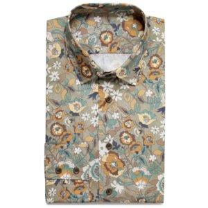 Sommerhemd mit floralem Muster