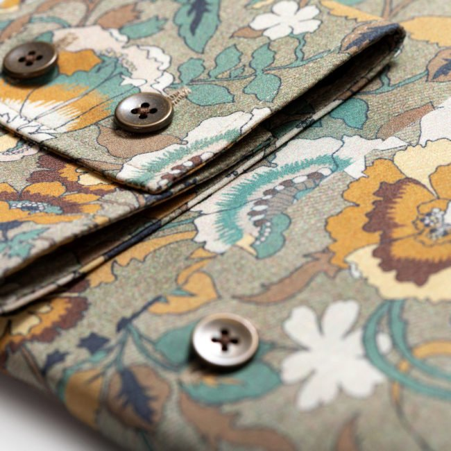 KD22 2 - Sommerhemd mit floralem Muster