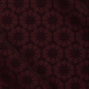 Eveningwear: Flower Jacquard in Bordeaux
