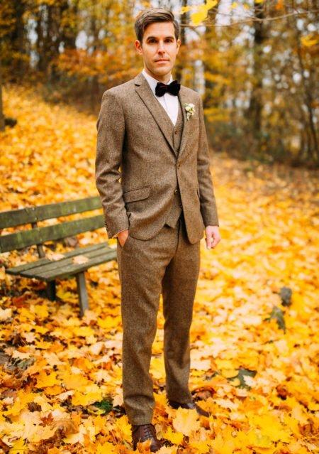 Herbst-Hochzeit in Tweed