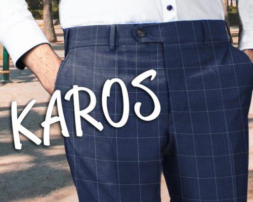 Sommertrend-Karohose