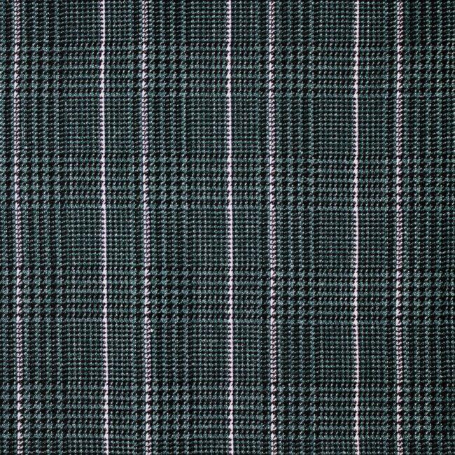 Macro 12 | Einstecktuch Glencheck dunkelgrün