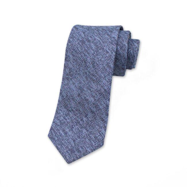 krawatte-blau-mit-webstruktur