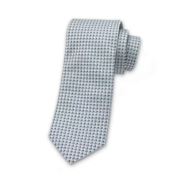 krawatte-punkte-auge-silber