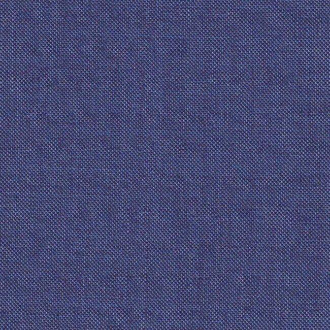 Blauer Business-Anzug aus leichter Schurwolle
