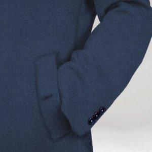 Kamelhaar Mantel blau