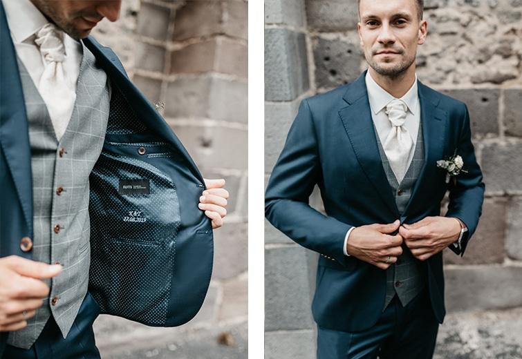 Blauer Anzug | Der perfekte Hochzeitsanzug