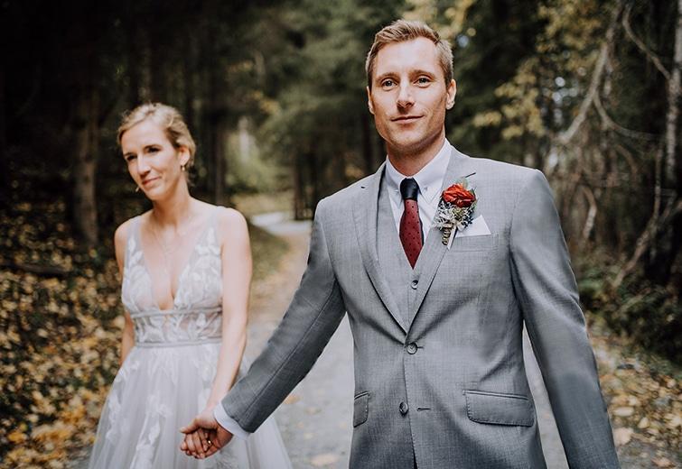 Grauer Anzug | Der perfekte Hochzeitsanzug