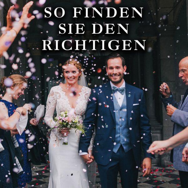 Hochzeitsanzug finden