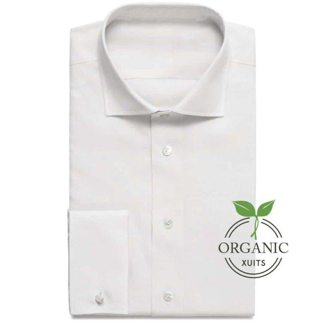 Organic Bio Baumwoll Hemd Weiß
