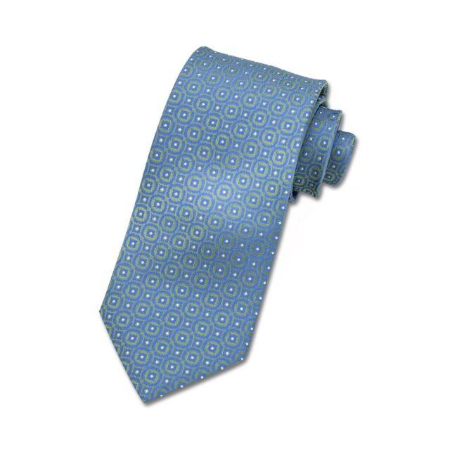 Krawatte gruen metallic kaleidoskop