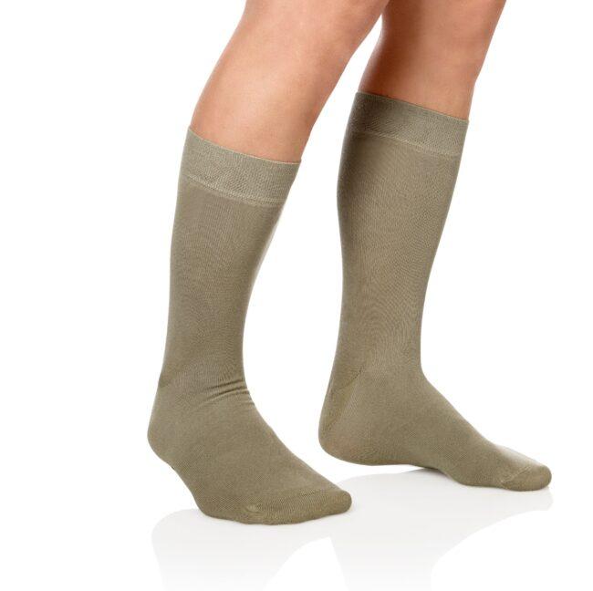 Socken Lanza Fuss Kaki - Baumwollsocken khaki