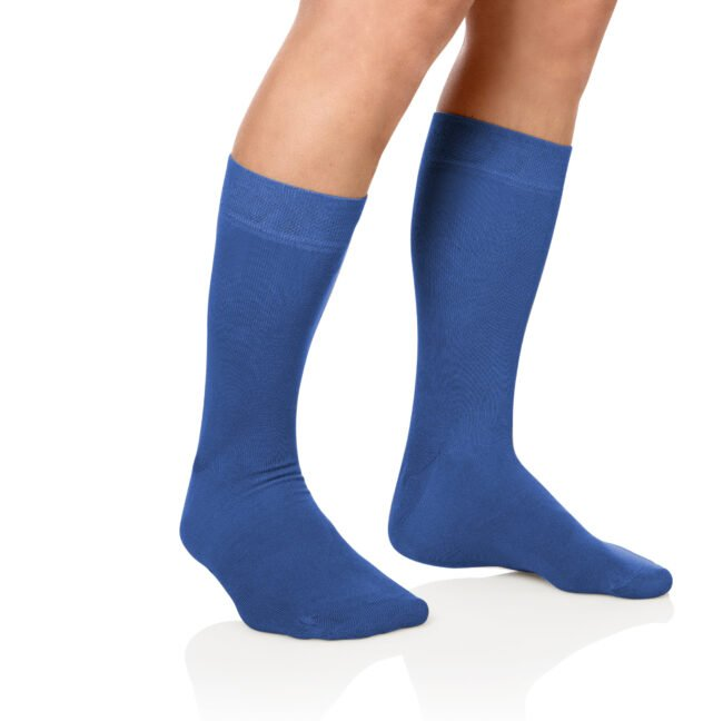 Socken Lanza Fuss Koenigsblau | Baumwollsocken königsblau