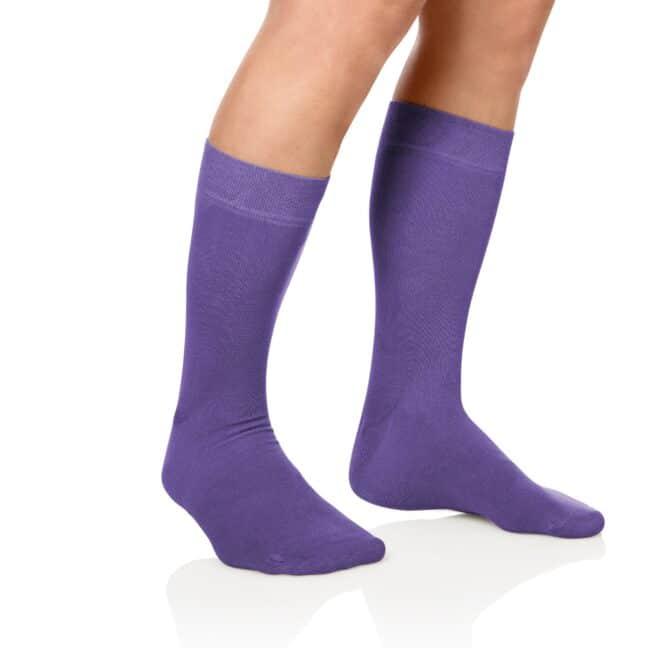 Socken Lanza Fuss Lila - Baumwollsocken lila