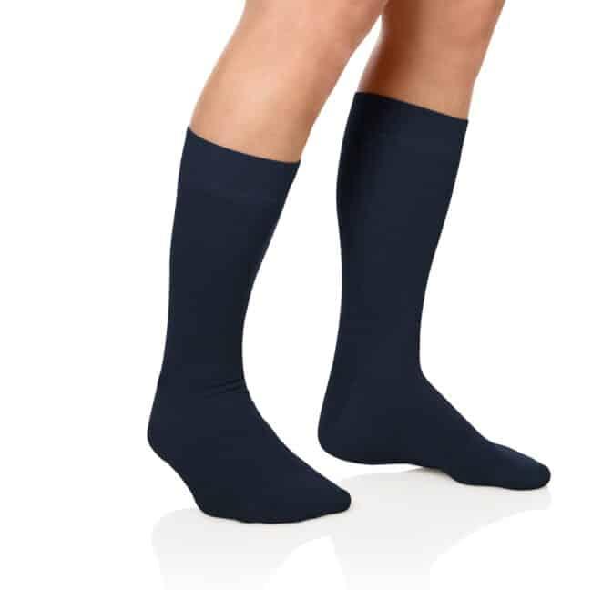 Socken Lanza Fuss Marine - Baumwollsocken marine