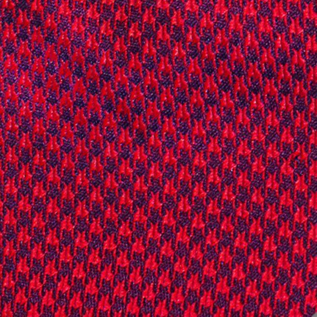 Macro rot hahnentritt | Schleife mit Hahnentritt rot bordeaux