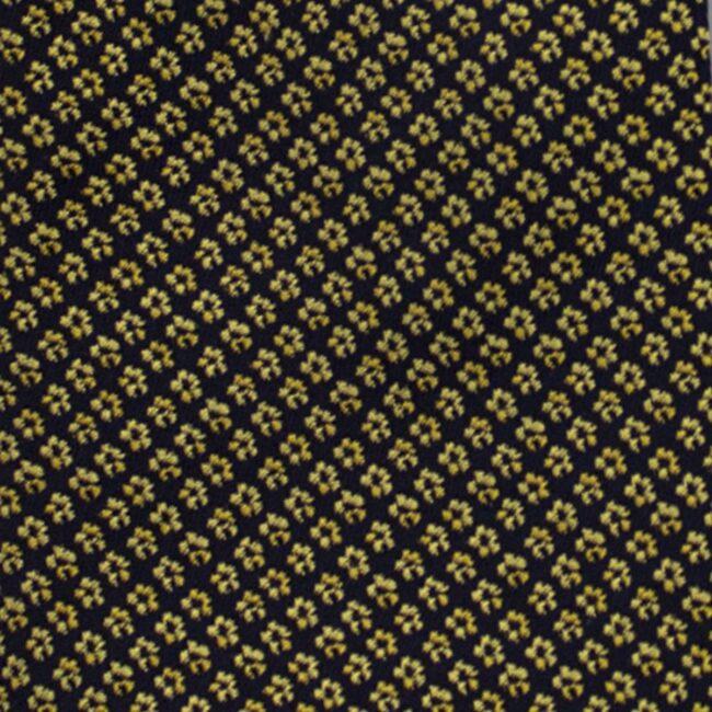 Macro schwarz blumen gelb | Hosenträger Blüten gelb auf nachtblau