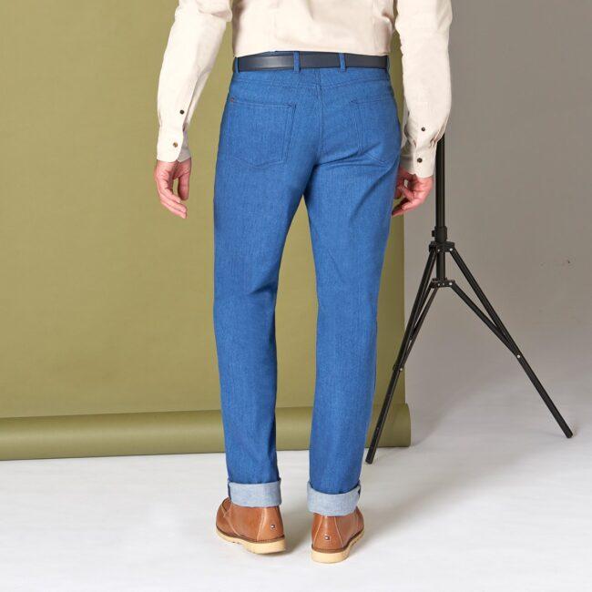 5Pocket 11 Ariston Back - Fjord - 5-Pocket Jeans
