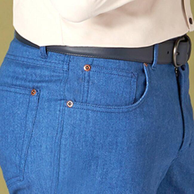 5Pocket 11 Ariston Side Pocket - Fjord - 5-Pocket Jeans