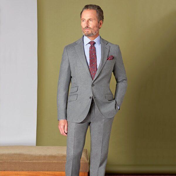 Flanell Anzug