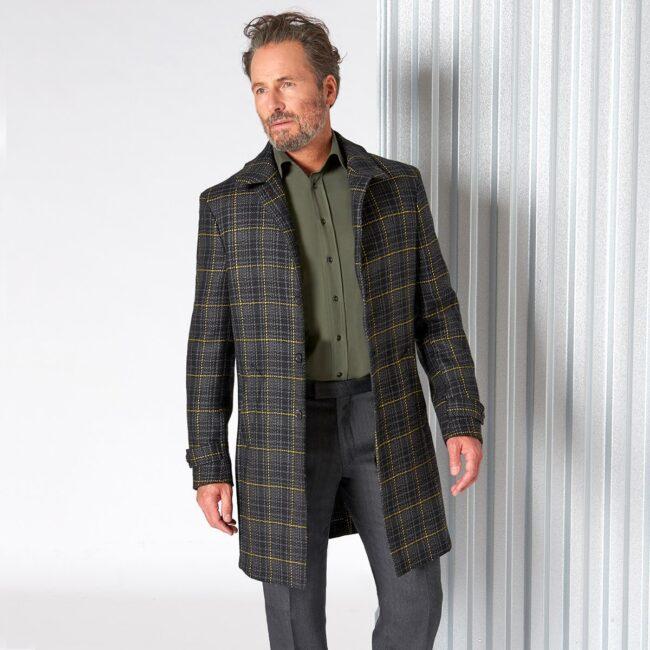 Raincoat 12 DashingTweed - Doctor Sherlock - Raincoat mit Überkaro