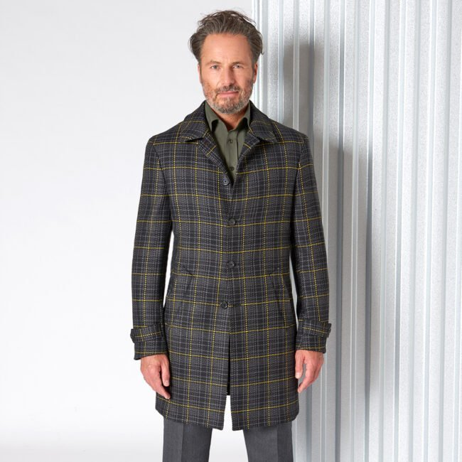 Raincoat 12 DashingTweed Closed - Doctor Sherlock - Raincoat mit Überkaro