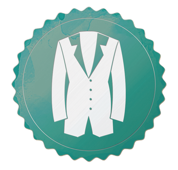 Retro Badges Anzug - Juve Spezialangebot