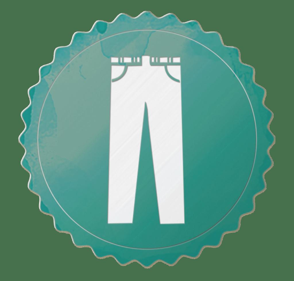 Retro Badges Hose - Juve Spezialangebot