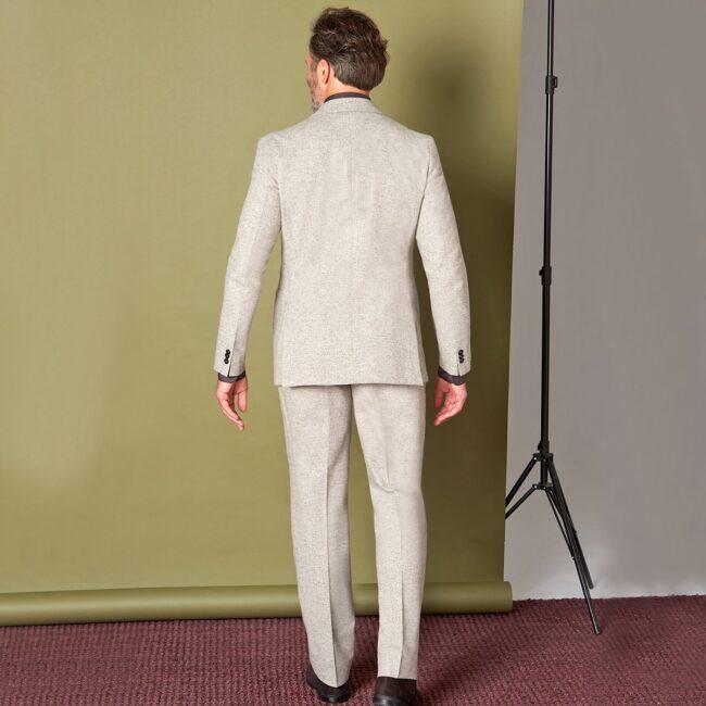 TweedZweireiher 2 HS Back - Danish Tweed - Zweireihiger Casual Anzug