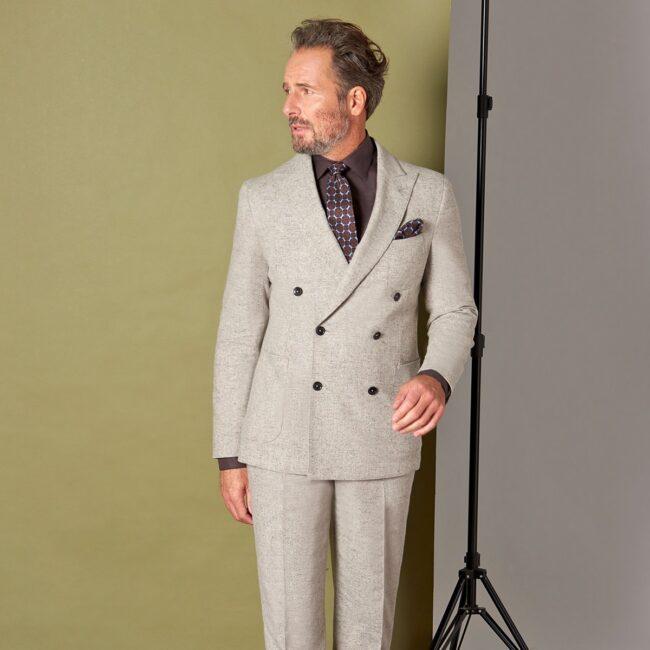 TweedZweireiher 2 HS Full - Danish Tweed - Zweireihiger Casual Anzug