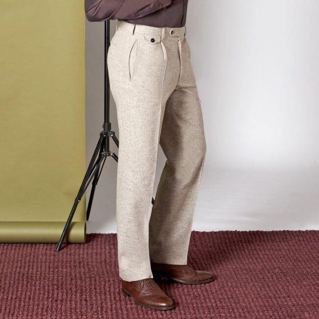 Tweedhose 2 HS Side Pocket - Danish Tweed - Zweireihiger Casual Anzug