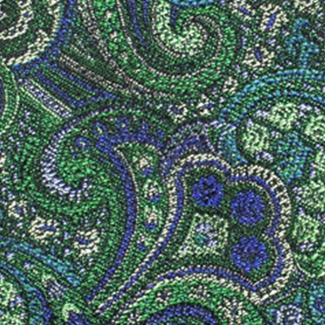 paisley gruen | Krawatte mit grünem Paisleymuster